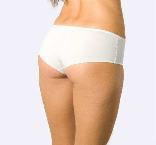 100% bavlněná bílé boxerky Antonietta