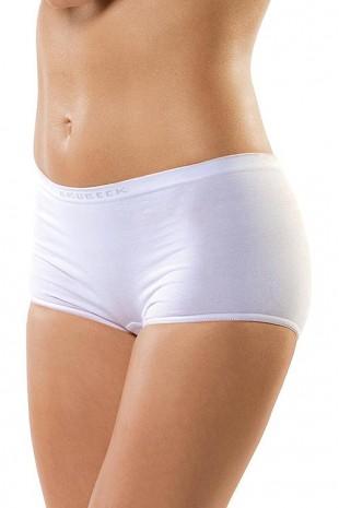 Dámské bavlněné bezešvé kalhotky boxerky Brubeck BX00042