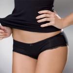 Panty kalhotky Sia-V 164 s elegantní krajkou