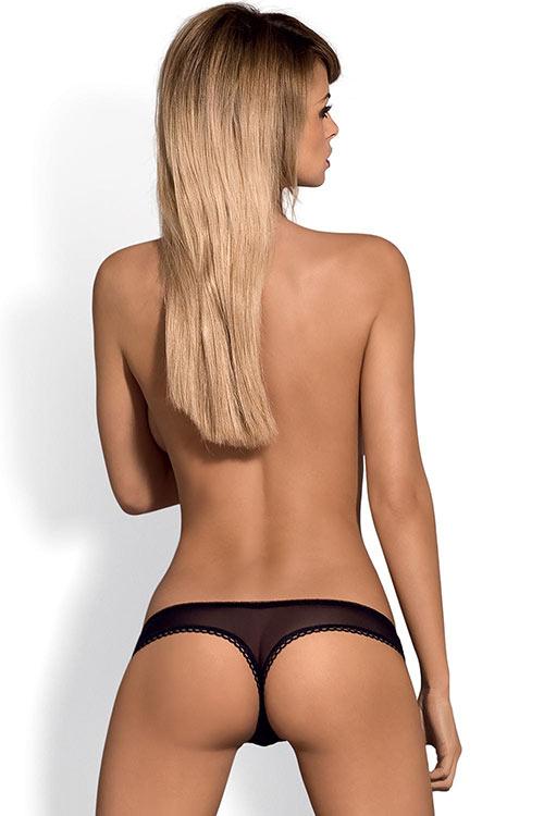 Průsvitná erotická tanga Obsessive Musca thong