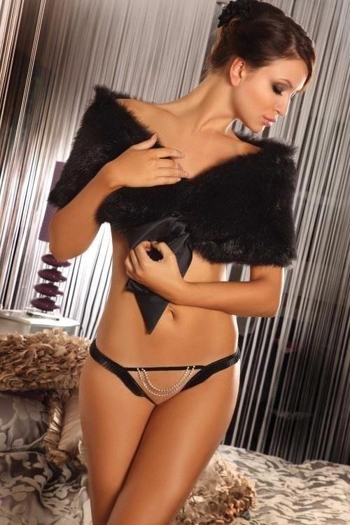 Erotická tanga Agave s otevřeným rozkrokem