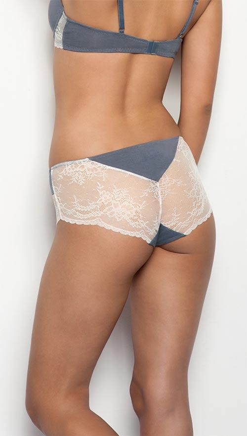 Sexy průhledné krajkové kalhotky