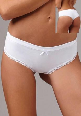 Něžné bavlněné dámské kalhotky brazilského střihu Lovelygirl 6651