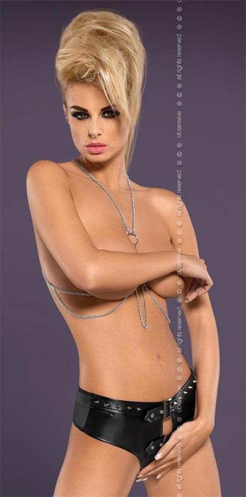 Erotické kalhotky s otvorem - ideální na BDSM