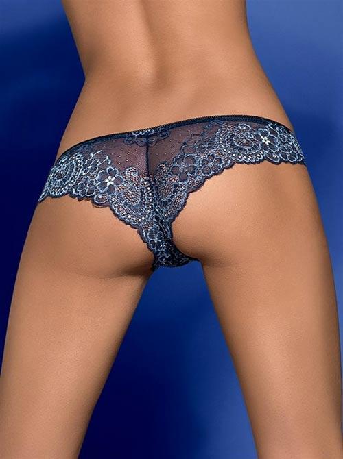 Poloprůsvitné sexy modré brazilky