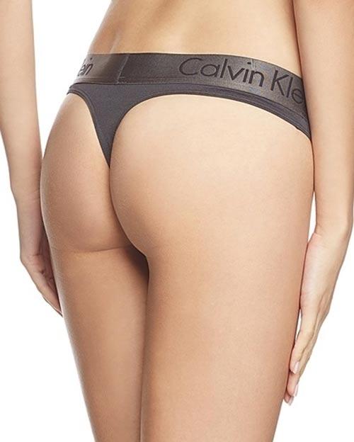 Šedé kalhotky Calvin Klein