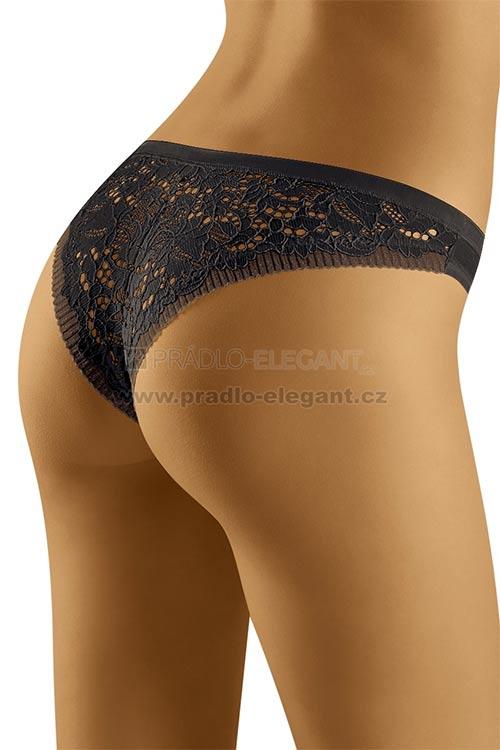 Bokové dámské kalhotky Flossy s krajkovým zadním dílem