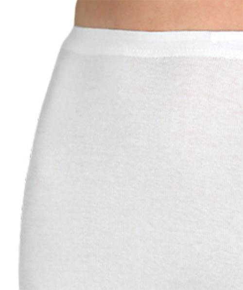 Bavlněné kalhotky s vysokým pasem