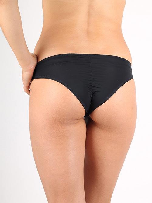 Černé sportovní dámské kalhotky