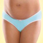 Mitex Blue Jelly Slip pod bříško pro těhotné ženy