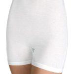 Vysoké stahovací bavlněné kalhotky s nohavičkou