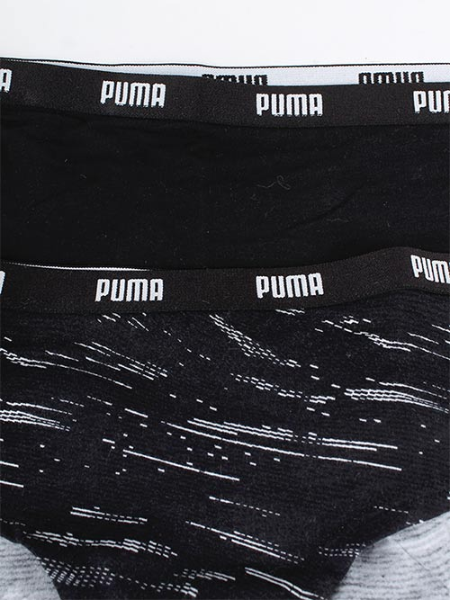 Černobílé dámské kalhotky Puma