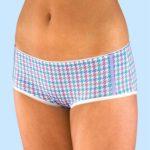 Nohavičkové kalhotky pro mladé dívky