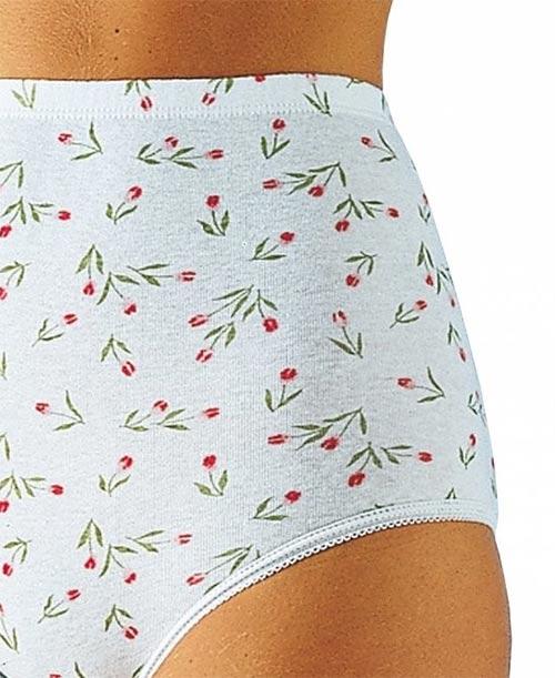 Vysoké bavlněné kalhotky