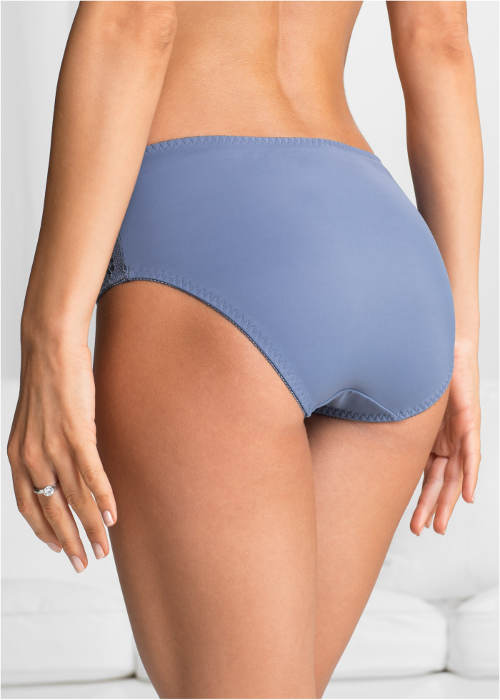 Vyšší modré dámské kalhotky