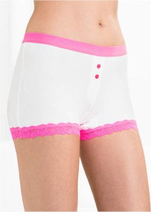 Levné nohavičkové kalhotky s knoflíčky