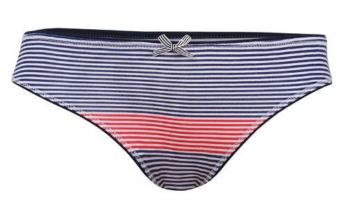 Dámské kalhotky s drobnými proužky