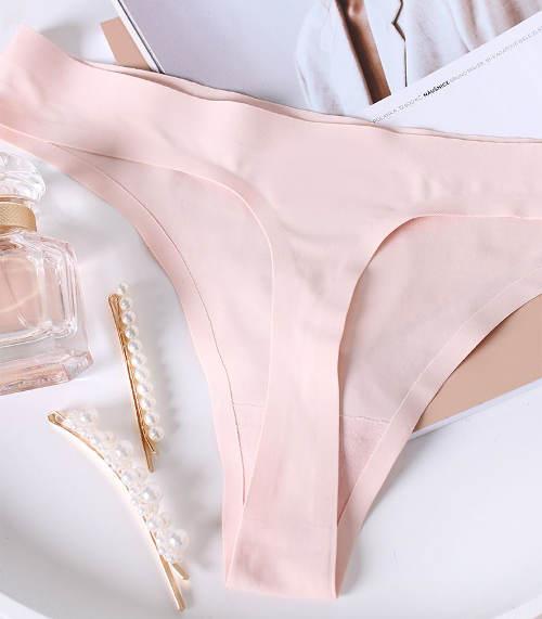 Světle růžové tělové tanga