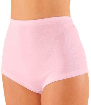 Vyšší pohodlné kalhotky ze 100% bavlny