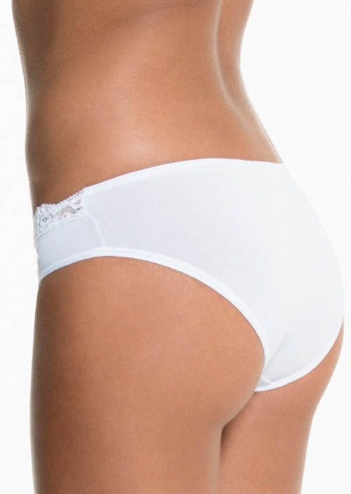 Bílé prodyšné kalhotky Pierre Cardin Edera