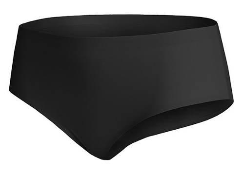 Neviditelné černé bezešvé kalhotky