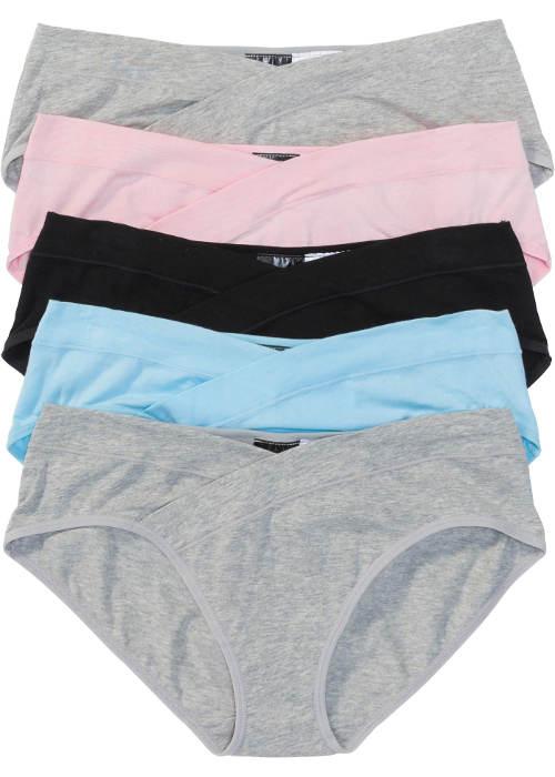 Bavlněné kalhotky zavinovacího vzhledu