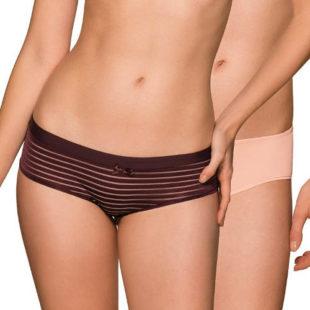 Dvojbalení francouzských kalhotek z jemného mikrovlákna