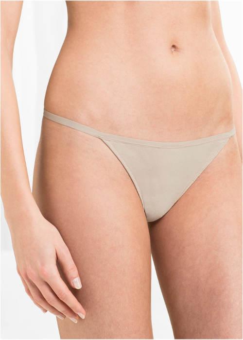 Tělové tanga kalhotky se šňůrkovými boky