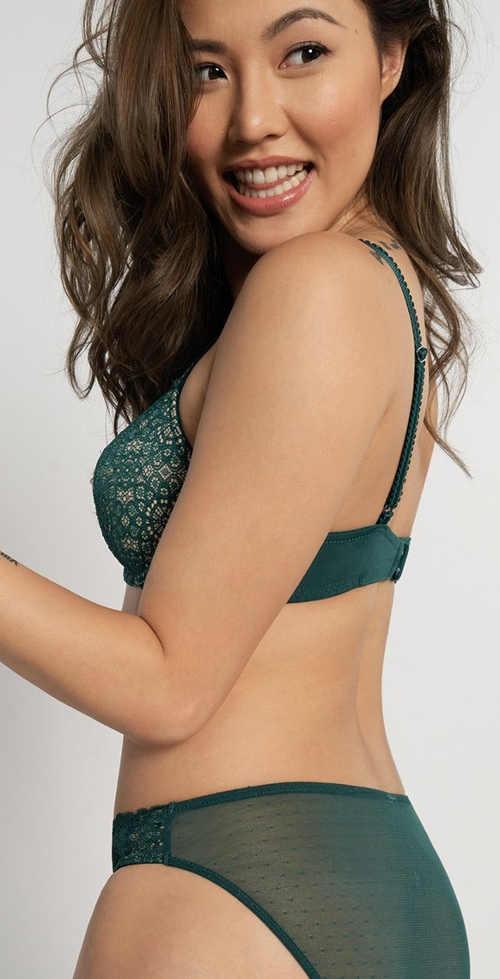Zelené dámské spodní prádlo Dorina