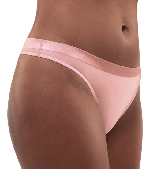 Růžové tanga kalhotky