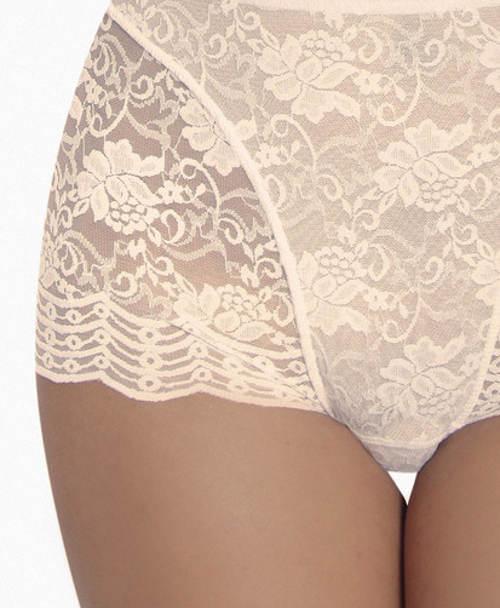Luxusní celokrajkové stahovací kalhotky