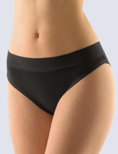 Černé dámské bokové kalhotky Gina