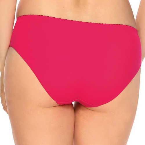 Jednoduché růžové kalhotky klasického střihu