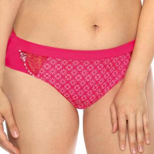 Klasické pohodlné kalhotky malinové růžové barvy