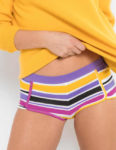 Pruhované francouzské kalhotky z kvalitní bavlny