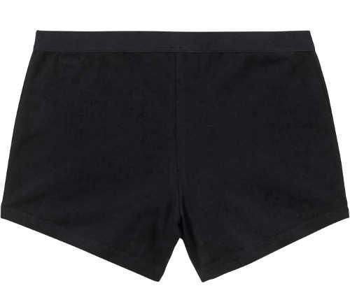 Černé dámské bavlněné boxerky