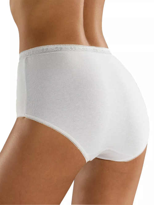 Pohodlné dámské maxi kalhotky z pružné bavlny