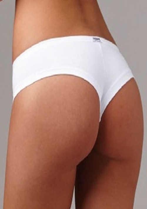 Bílé bavlněné brazilky Lovelygirl 3994
