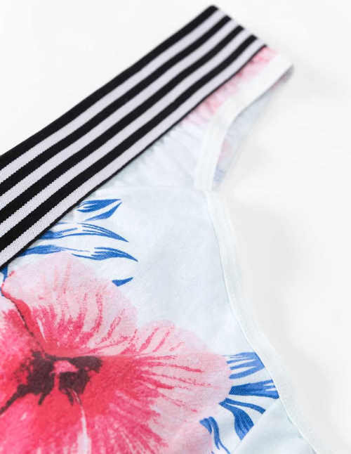 Dámské kalhotky s krásným květinovým potiskem
