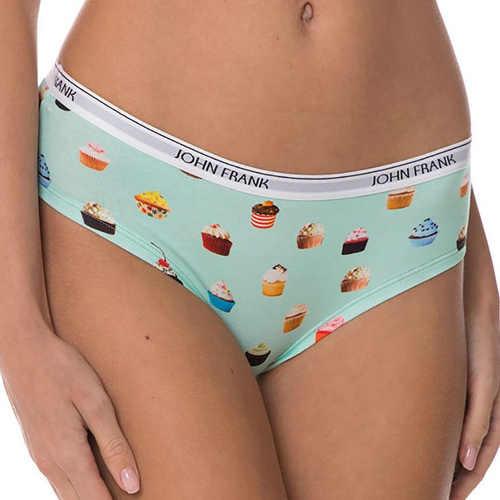 Nápadité francouzské kalhotky s potiskem malých dortíčků