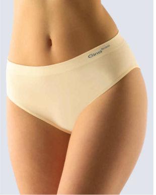 Dámské pohodlné bezešvé kalhotky v béžovém provedení
