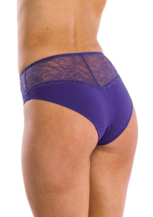 dámské klasické kalhotky s krajkou