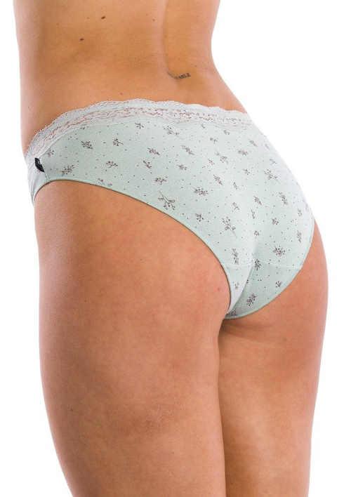 vzorované bavlněné dámské kalhotky